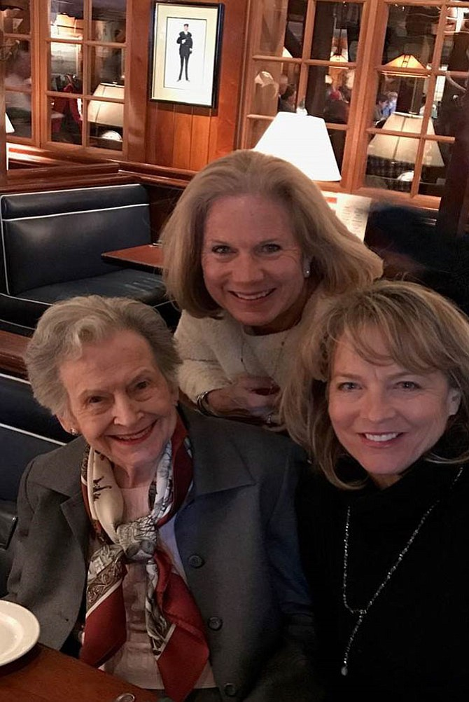 """Groceries to Go Trio: Barbara """"Polly"""" Spahr, Mary Pat Woodman and Diana Baltimore."""