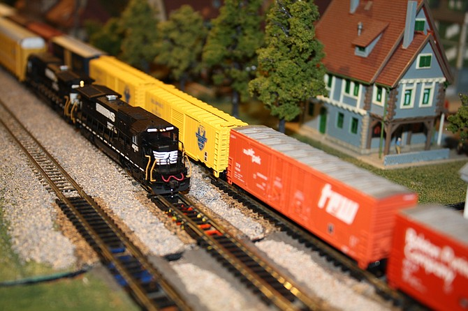 Model Train shows, Aug. 23 and Aug. 30 at Fairfax Station.
