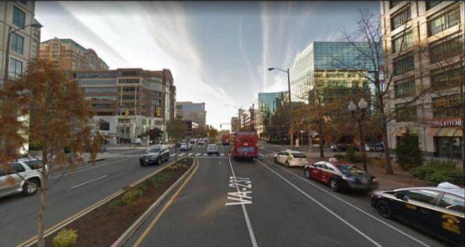 Route 237 in Arlington.