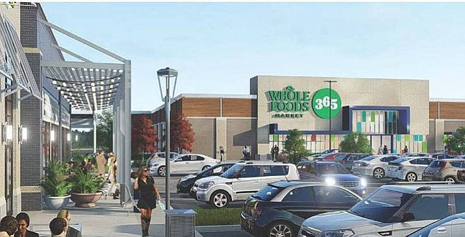 Artist's rendition of the new Whole Foods 365 grocery store.