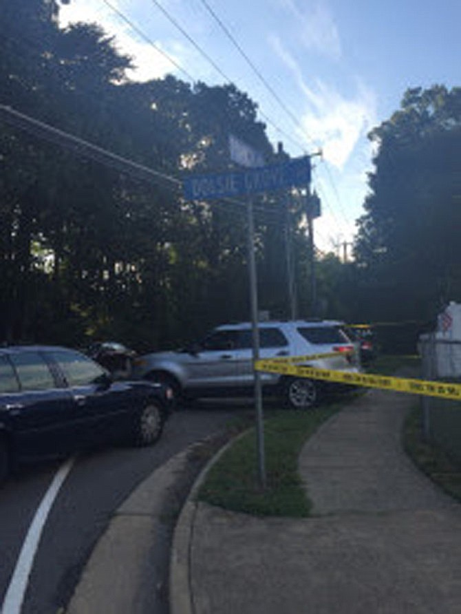 Patrol officers found two bodies in a car at the intersection of Dolsie Grove Drive and Pohick Road shortly after 3:30 a.m. on July 26 after a citizen called to report a suspicious vehicle.