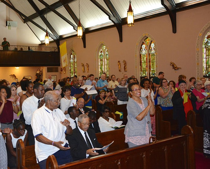 More than 200 local residents and congregants turned out to push City Council for housing and transit reform at a nonpartisan event, held July 25 at St. Joseph Catholic Church.