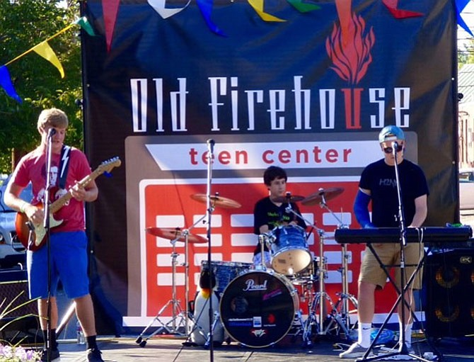 From left: Eric Stein, Jack Lichtenstein and Bryan Bedell of The Unexpected band will be performing at the 4th Annual Bands for Bikes Concert, Saturday, Aug. 19, 2017 in McLean.