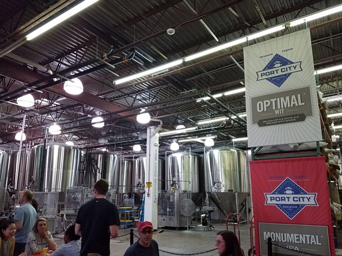 Port City Brewing is located at 3950 Wheeler Ave.