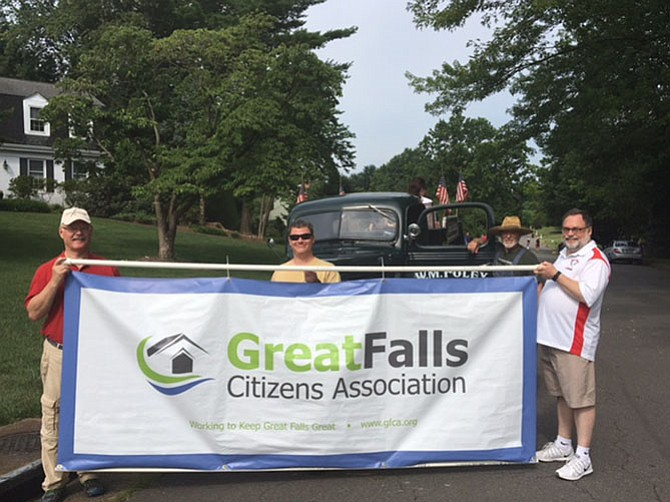 The Great Falls Citizens Association participates in 2017 July 4 parade in Great Falls.