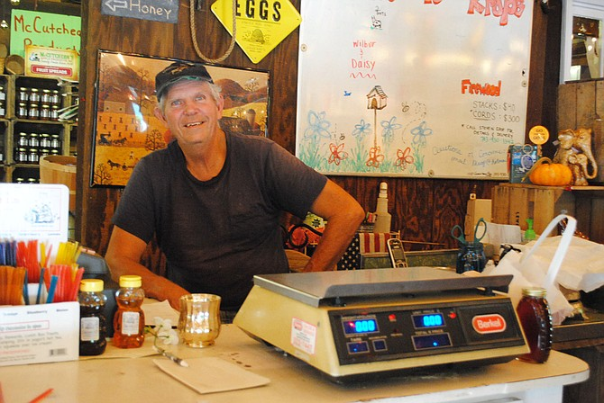 Owner, Larry Krop, greets customers with a friendly smile.