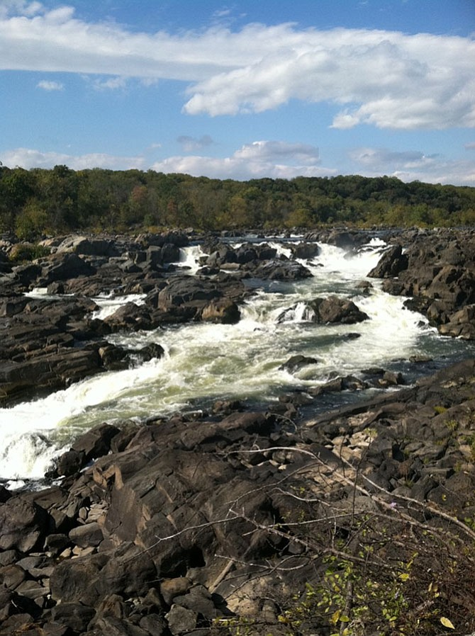 Potomac's C&O Canal has multiple overlooks of the falls.