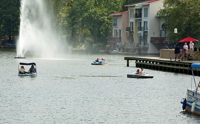 Lake Anne.