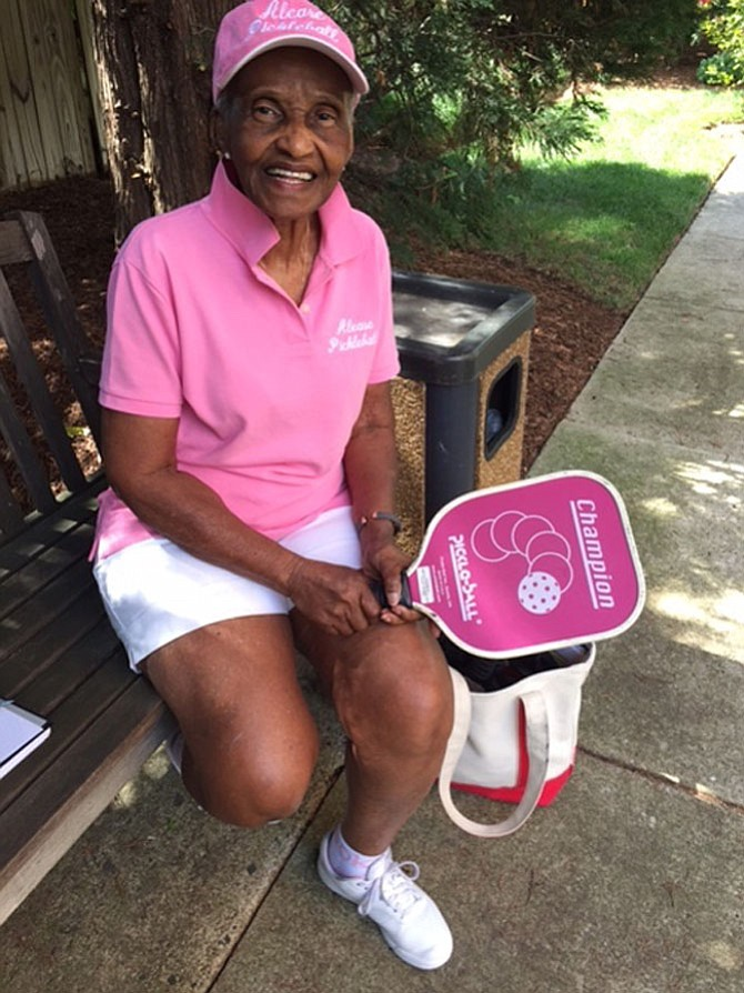 Alease Brooks is registered for 13 different events in this year's Northern Virginia Senior Olympics (NVSO). Brooks is 84 (almost 85) and will be competing for the 14th year.