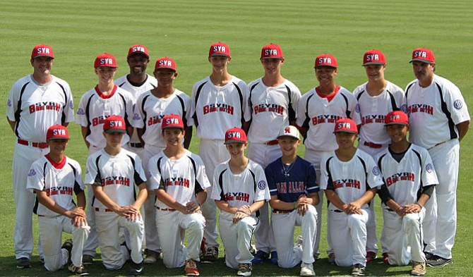 The SYA 14 Year Old All-Star team
