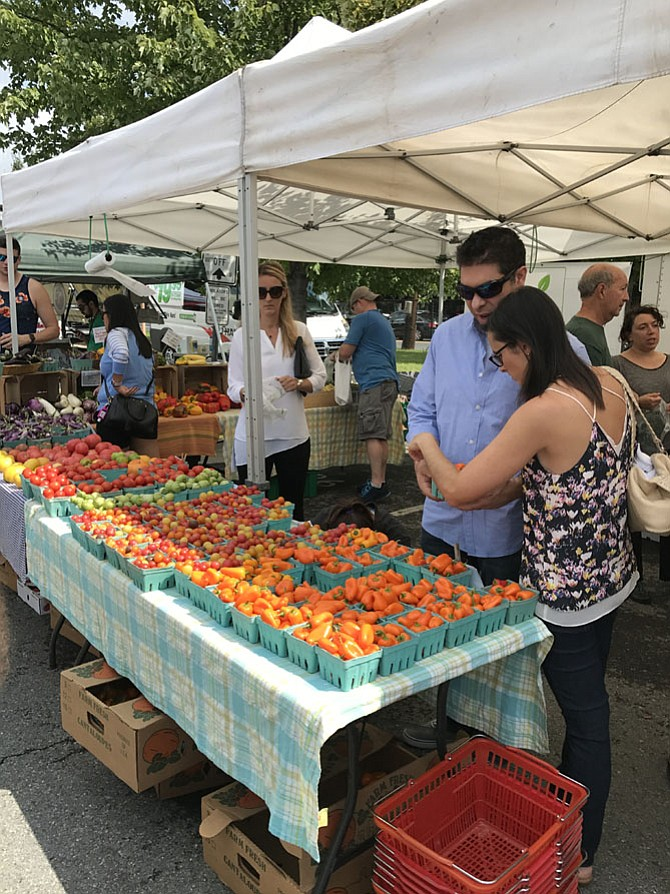 Among the most nutritious and readily available produce at the Bethesda Farmers Market are cabbage, peppers, squash and beets.
