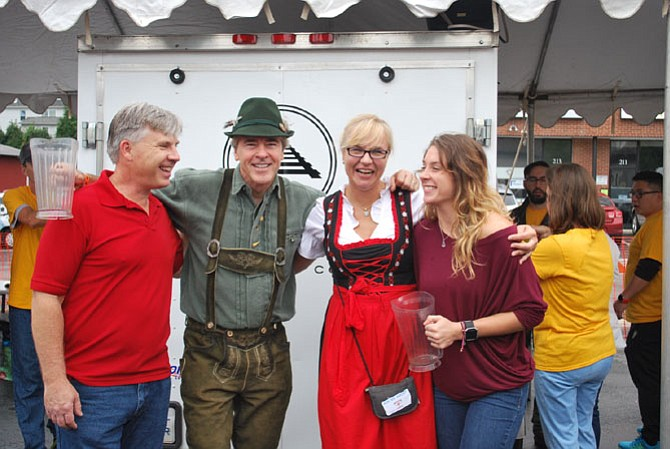 On Saturday, Oct. 7, it's the Vienna Oktoberfest 11 a.m.-7 p.m. along Church Street, Vienna. Live entertainment on three stages, beer, food, games, German Auto Show. Visit www.viennaoktoberfest.org/ for more.