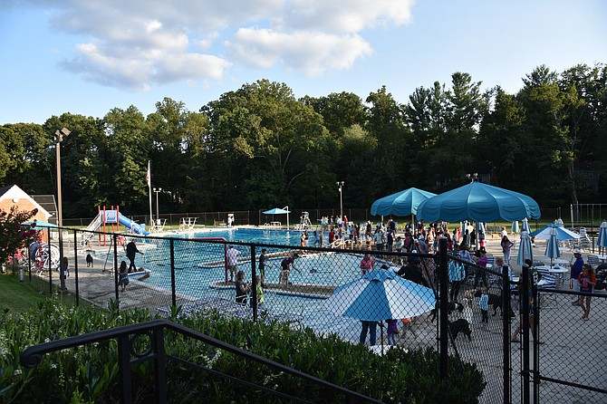 River Falls pool closed its season with an annual dog swim on Sunday, Sept. 10.