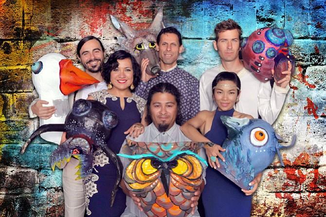 Musical Group Quetzal.