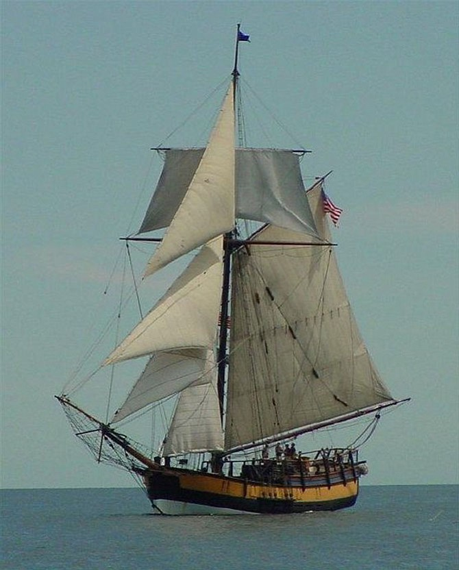 The Providence, a 110-foot Class A tall ship, is a 12-gun, full scale replica of the Continental Navy's first warship. A foundation has been formed to make Old Town the permanent home of the vessel.