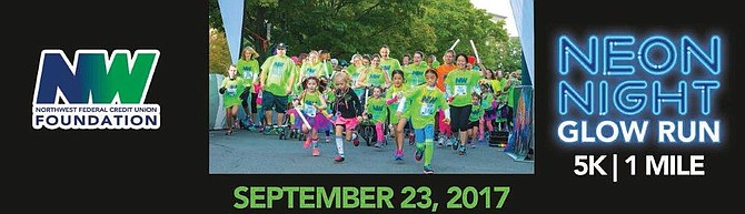 Glow Run benefit Saturday, Sept. 23 in Reston
