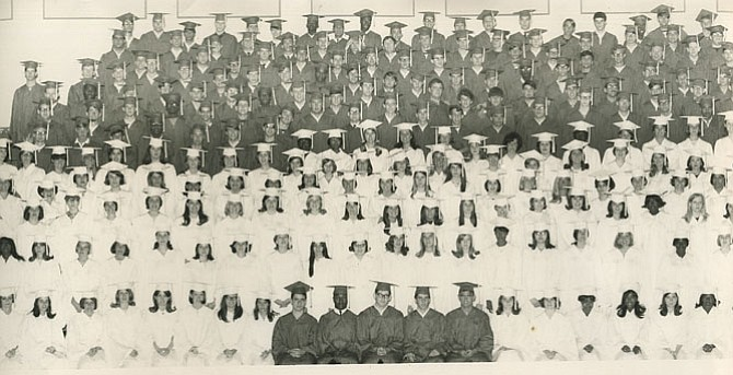 The T.C. Williams High School graduating class of 1967.
