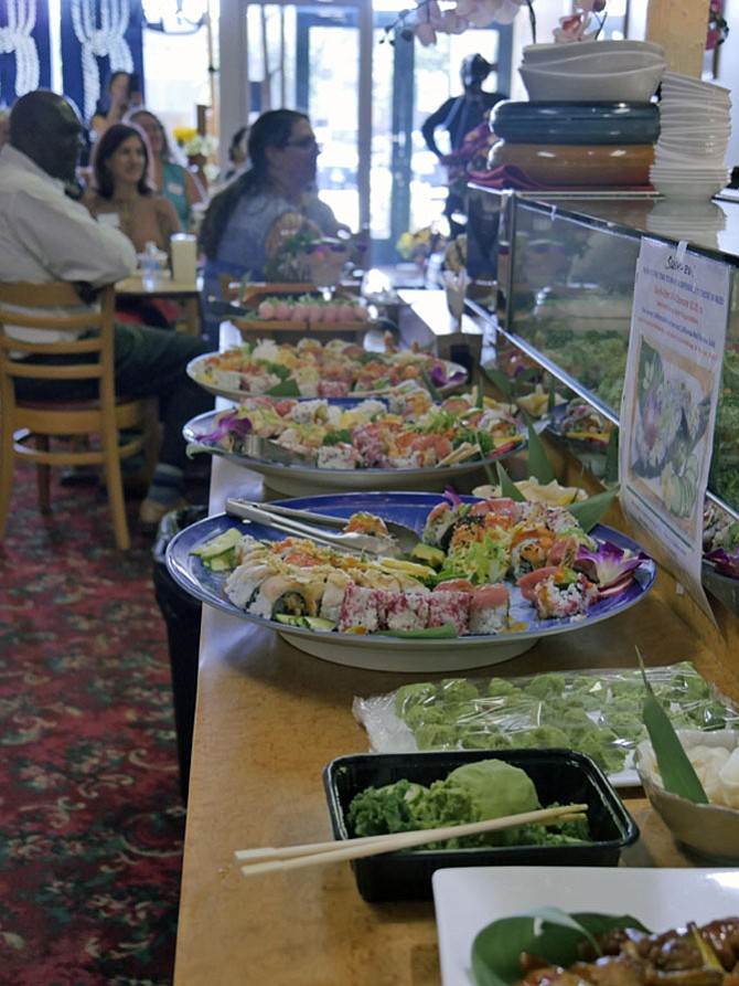 Non-profit organizations combine sushi and support.
