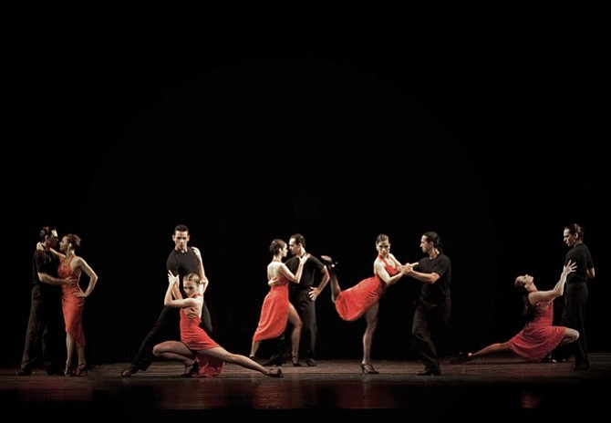 """Tango Buenos Aires: The Spirit of Argentina"" comes to George Mason University, Center for the Arts, on Saturday, Oct. 14."