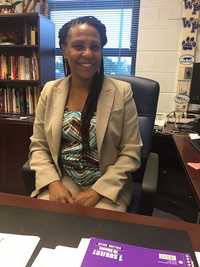 West Potomac High School Principal Tangy Millard, age 46, has been in education for 23 years.