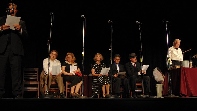 "The ensemble cast of ""In Living Sound – Back Home"" includes Stuart Fischer, Terry Mason, Jay T. Stein, Jocelyn Steiner, John Totten and Kathy Young."