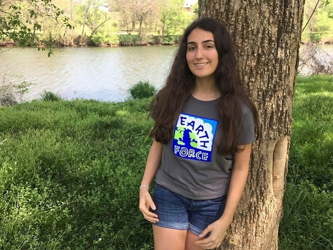 T.C. Williams High School student Ana Humphrey, 16, has been named a national winner of the 2017 Gloria Barron Prize for Young Heroes.