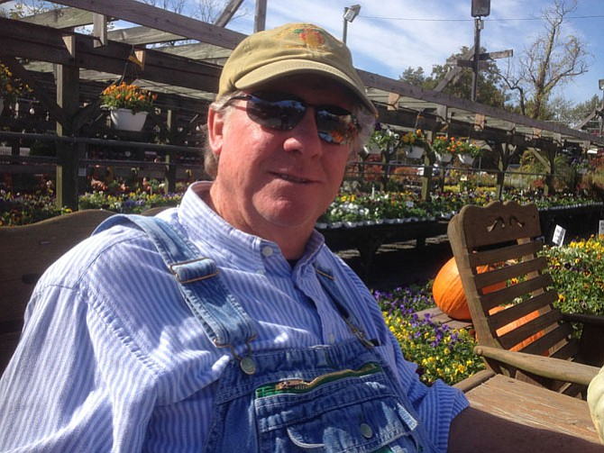 Cary Nalls knows a lot about pumpkins, produce and the Beulah Street area where he's been selling produce since 1961.