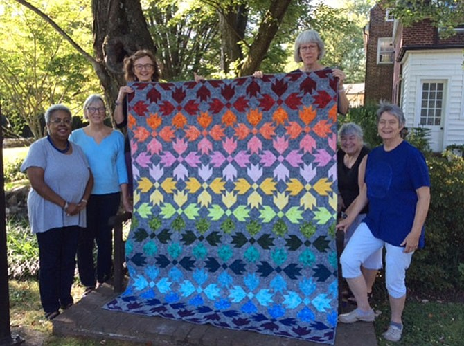 "The quilt ""Garden of Delights!"" made by the Mt. Vernon Unitarian Church quilters, will be raffled at Holiday Shop at $1 per ticket."