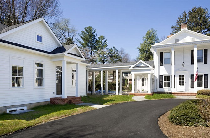 This addition and breezeway by Winn Design + Build was created to complement the existing Civil War-era home.
