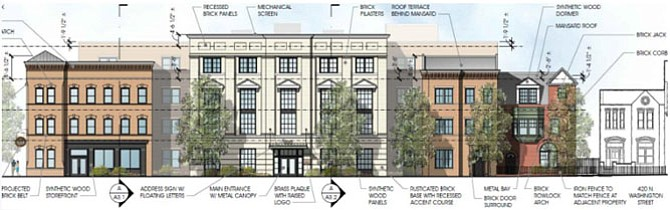 Plans for the Sunrise Senior Living Facility