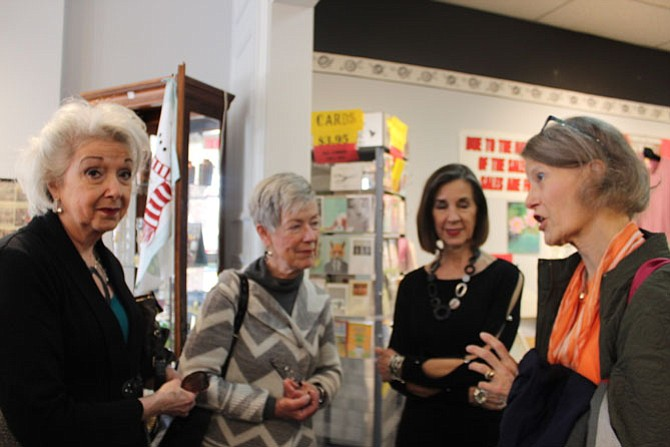 From left: Fran Tancreti, Patti Harger, Judy Ryan and Susan McCannell reflecting on their experience with the store and the next steps after closing.