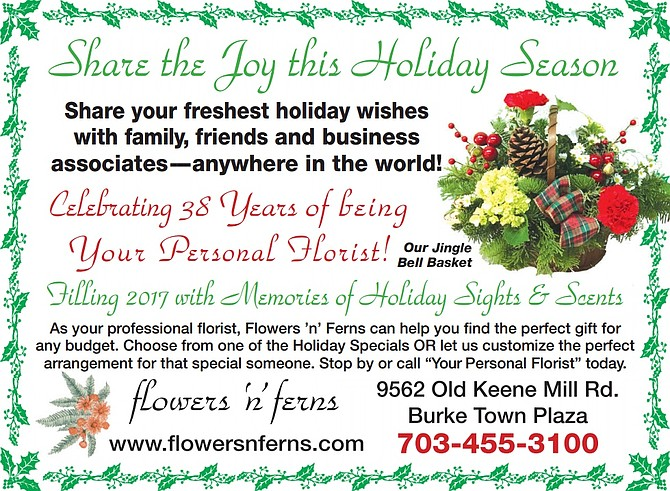 Flowers 'n' Ferns Celebrates 38 Years of Being Your Personal Florist