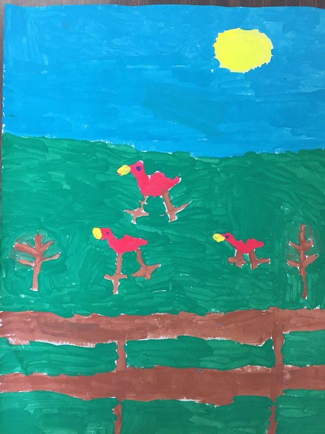 Children's Edition 2017: By Carson L., 1st Grade, Union Mill Elementary School