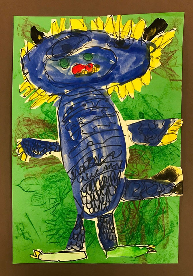 "Children's Edition 2017: ""Wild Thing"" by Giulianna Najarian, Kindergarten, Potomac Elementary School"