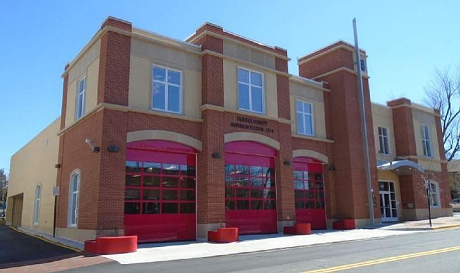 The grand opening of Fire and Rescue Station 4 in Herndon occurred in April.