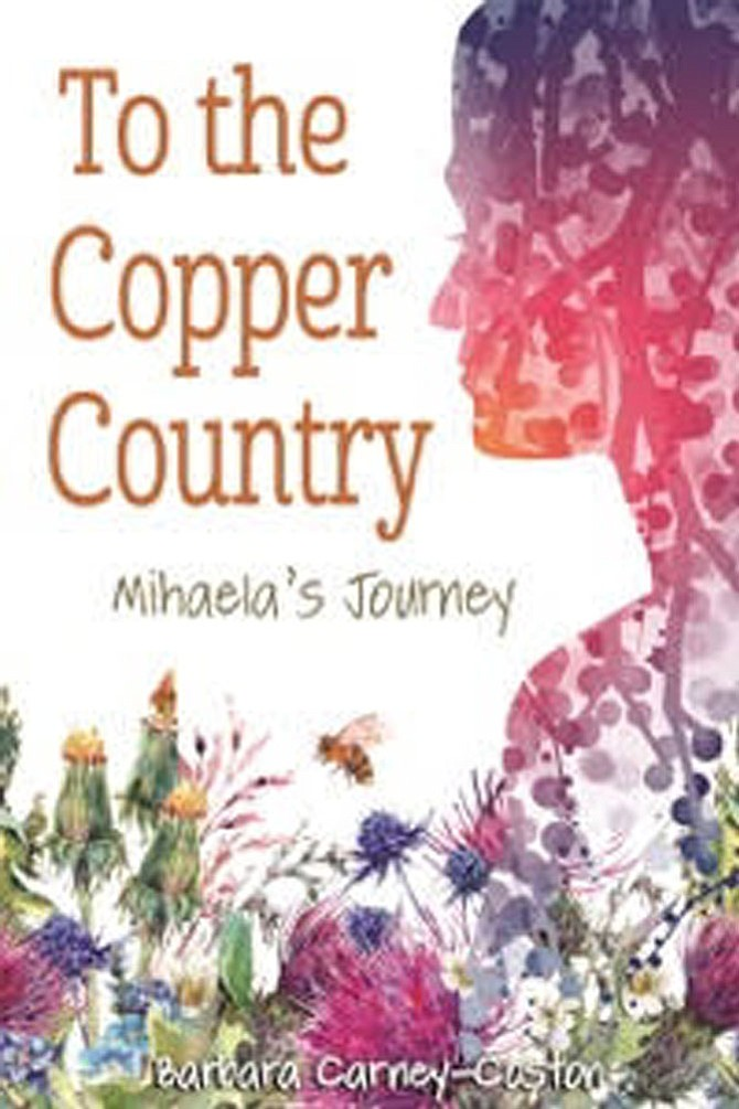 "The cover of ""To the Copper Country,"" by Carney-Coston. Cover designed by Rachel Ross."