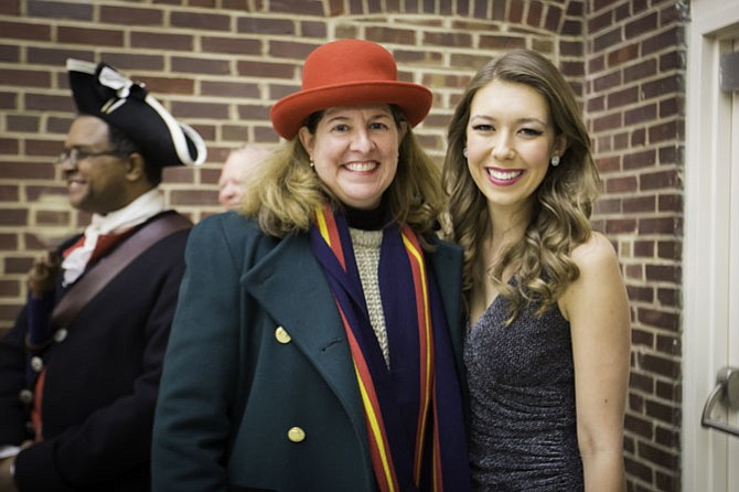 Mayor Allison Silberberg with singer/songwriter Keira Moran.