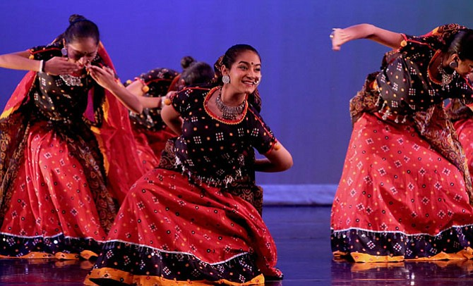 Nrityanjali Dance Company in performance.
