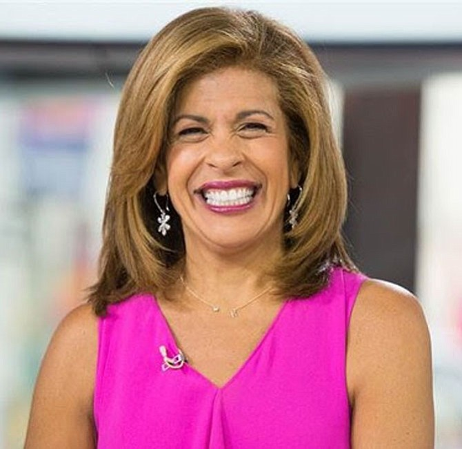 Hoda Kotb, now co-anchor of The Today Show.