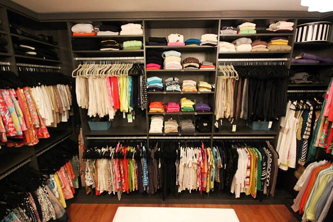 Small tasks such as putting away clothes each day can lead to an organized space.