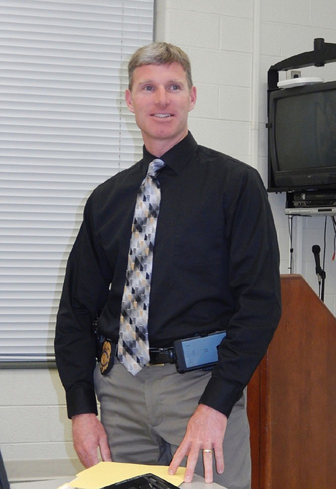 Sully District Police Lt. Todd Kinkead heads the Criminal Investigations Section.