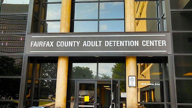 A spokesman for the Fairfax County Sheriff's Office says there are no numbers that show smuggled opioids are a problem at the Fairfax County Adult Detention Center.