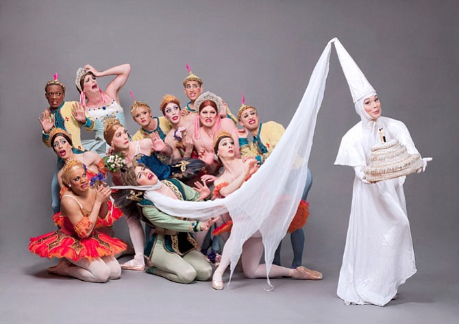 """Raymonda's Wedding"" performed by Les Ballets Trockadero de Monte Carlo."