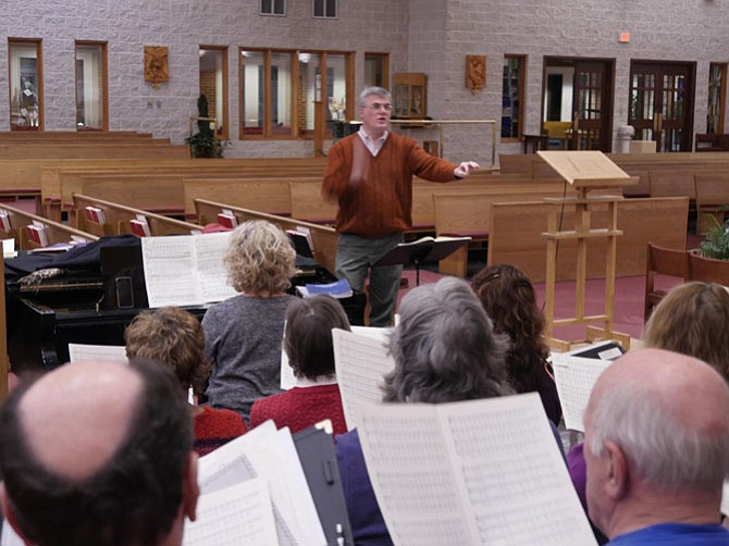 John McCrary, director of Music and Liturgy at Blessed Sacrament Catholic Church.