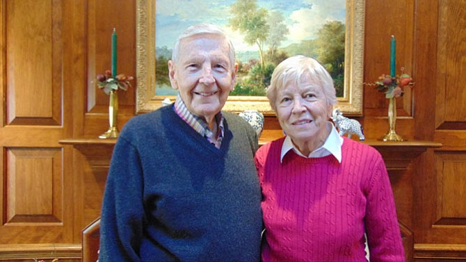 McLean's Dr. Robert Nirschl with his wife Mary Ann.