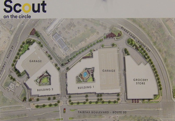 Site plan for Scout on the Circle