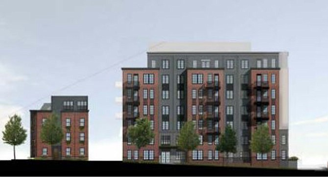 11th & Vermont project rendering.