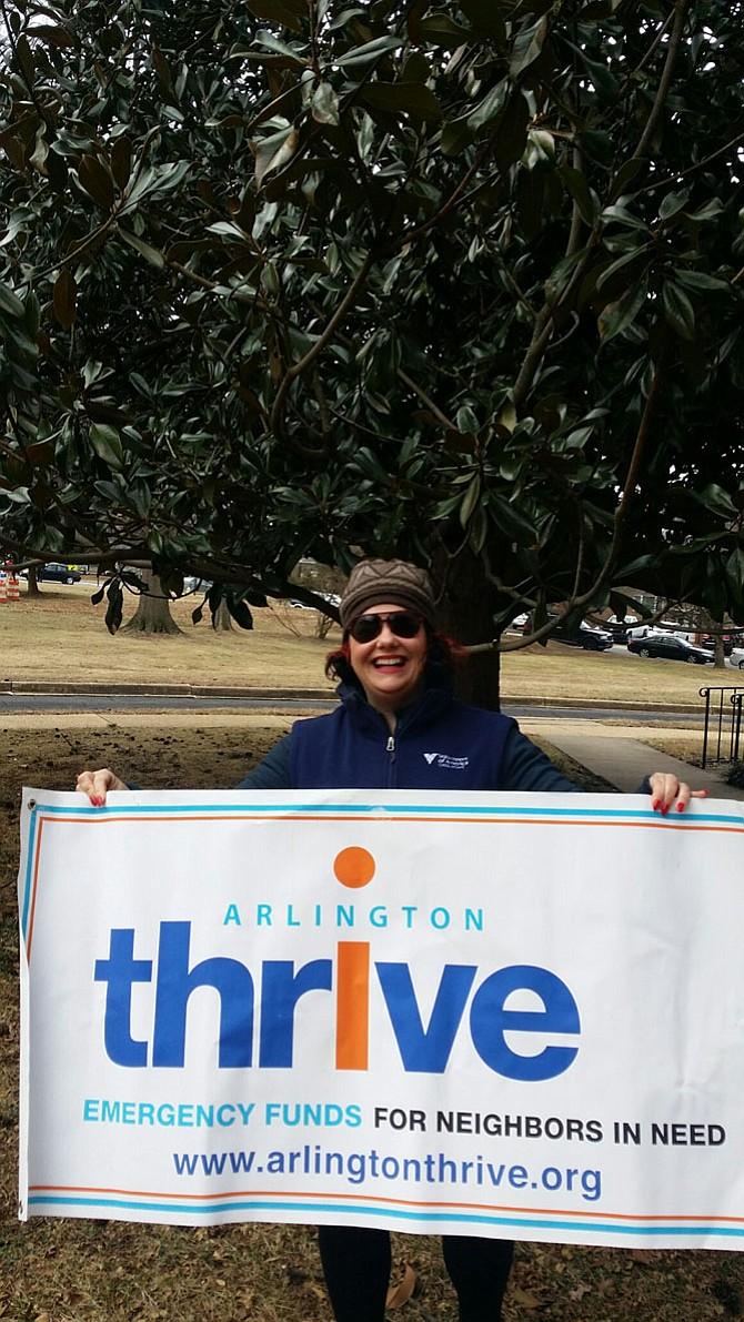 Gwen McQueeney is running in the Arlington Thrive Resolve to Run 5K training program for the first time this year.