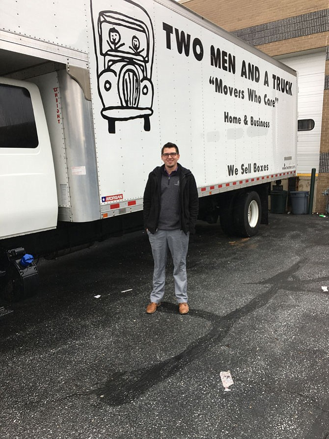 Jared Button is general manager of Two Men and a Truck Potomac franchise.