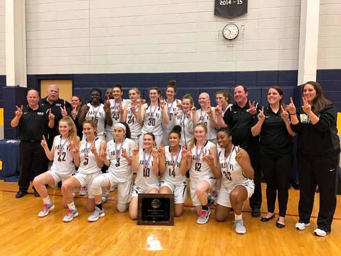 The Paul VI Lady Panthers captured their 12th consecutive VISAA Division I State Championship.
